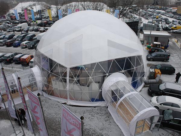 tent passway