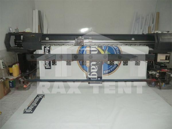 tent print logo
