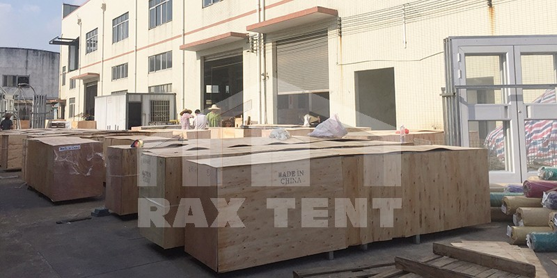tent package and shipment