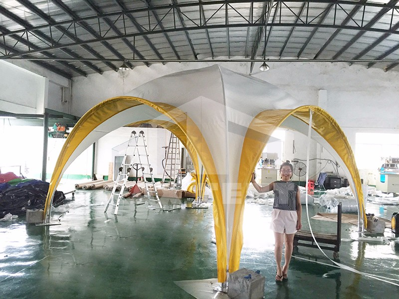 round tent from China factory