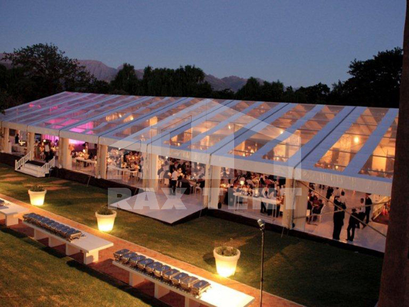 China transparent tent for wedding party