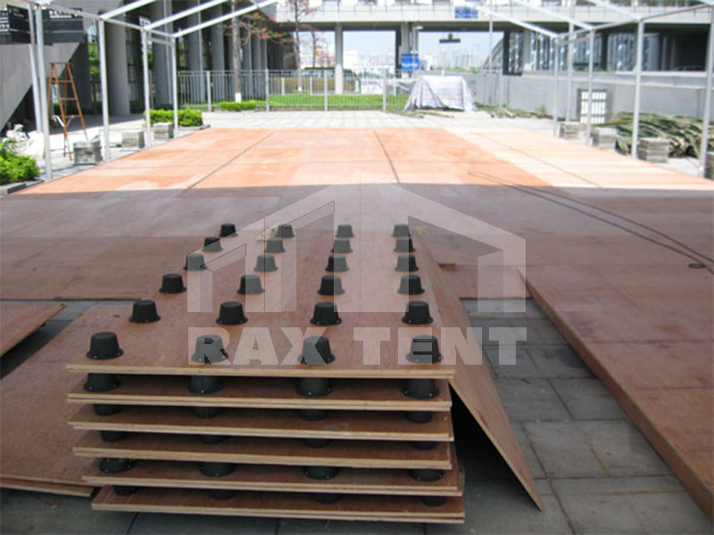 raxtent aluminum tent with wood floor