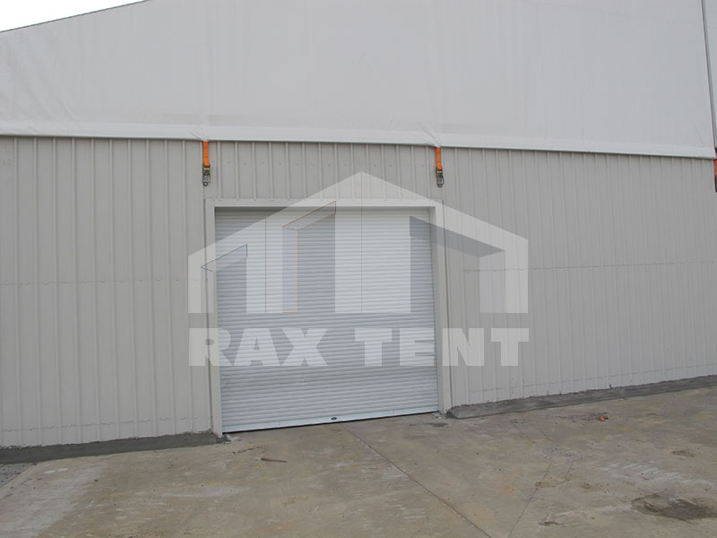 raxtent shutter doors for trucks exit