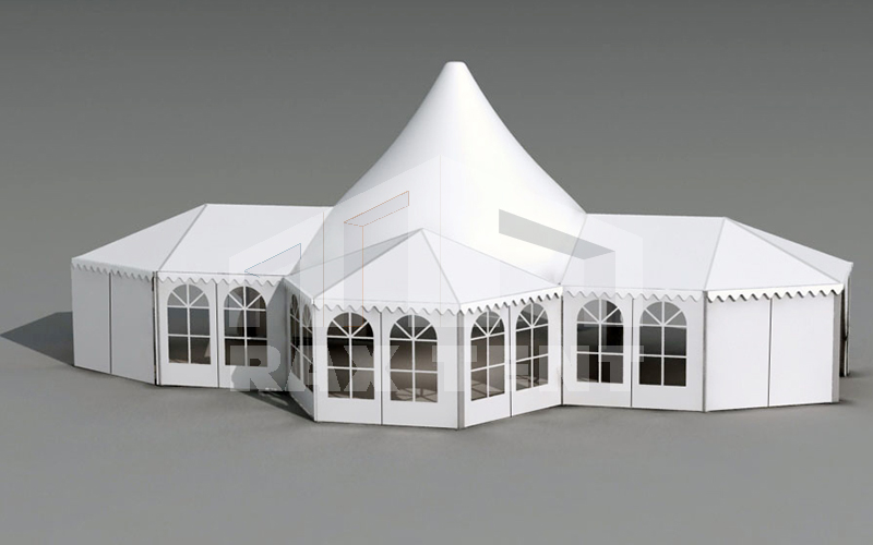 raxtent design of combination tent