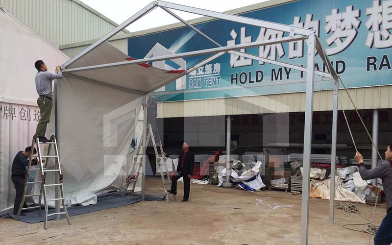 aluminum frame tent for sale