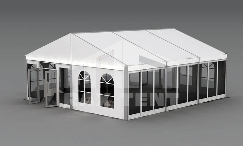 middle scale aluminum frame tent for sale