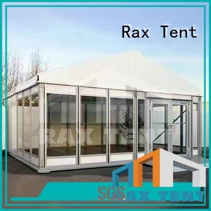 RAXTENT Brand polygon glass garden marquee tent concert marquee