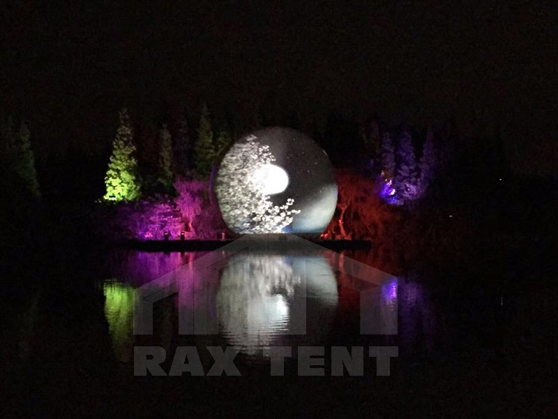 Raxtent projection dome