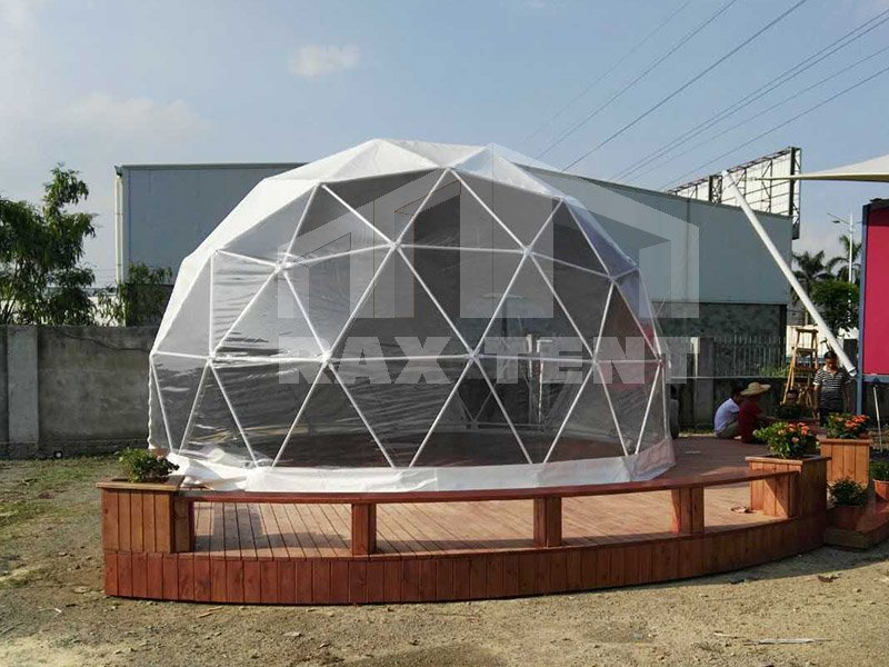 raxtent 6m dome house