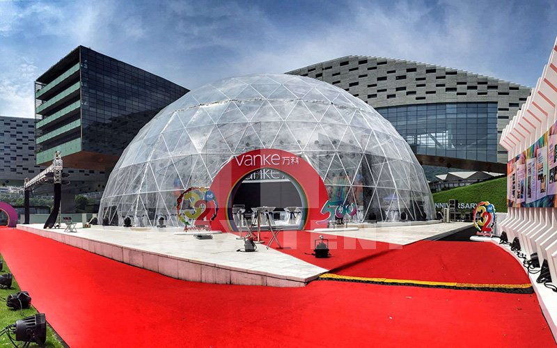 transparent dome tent for sale
