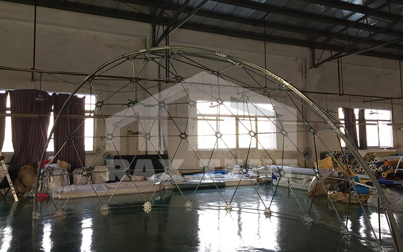 projection dome tent