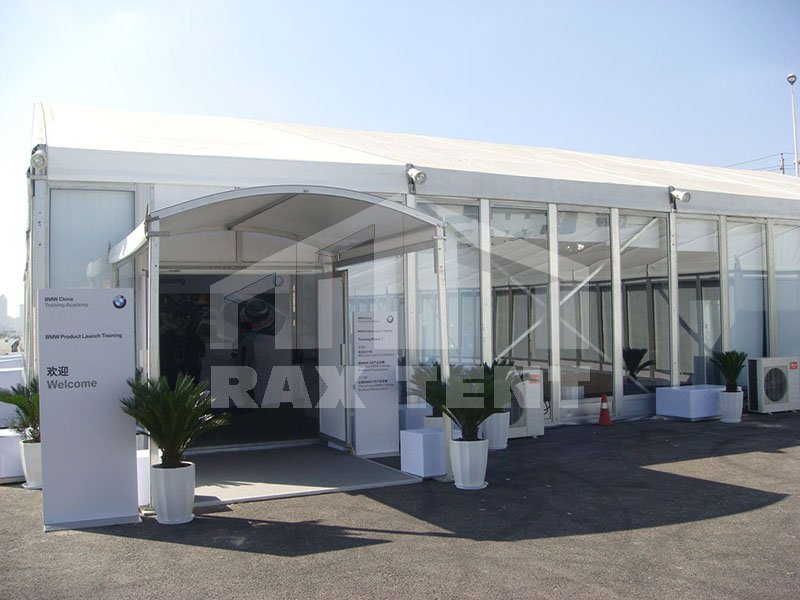 tent door eaves