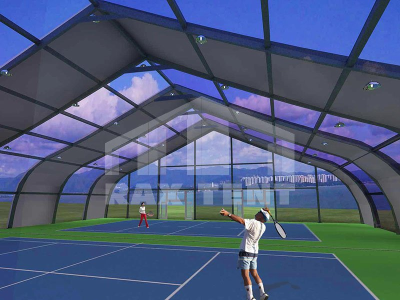 sports tennis football tent for sale