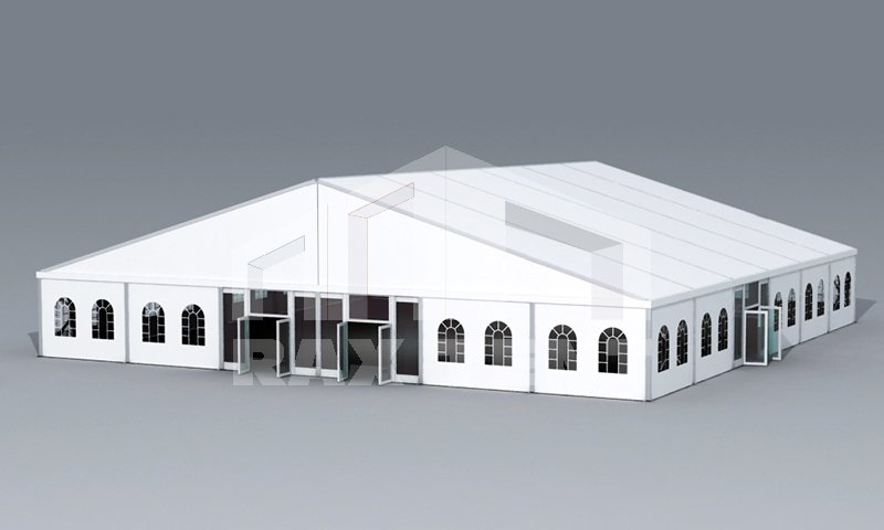 Raxtent A shape tent for evening party,wearhouse
