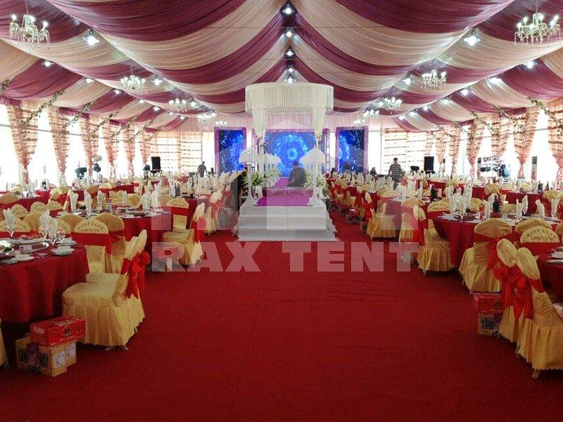 Luxury Party A-Shape & Dome Wedding Tent