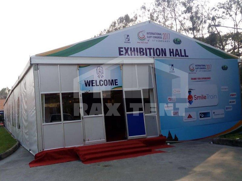 Exhibition A-Shape Tent in Outdoor