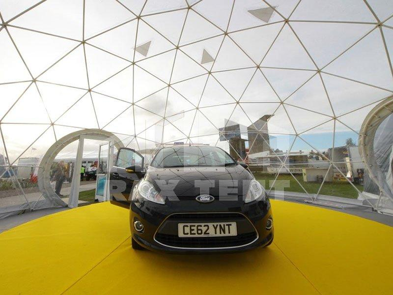 Durable Transparent Car Show Event Tent