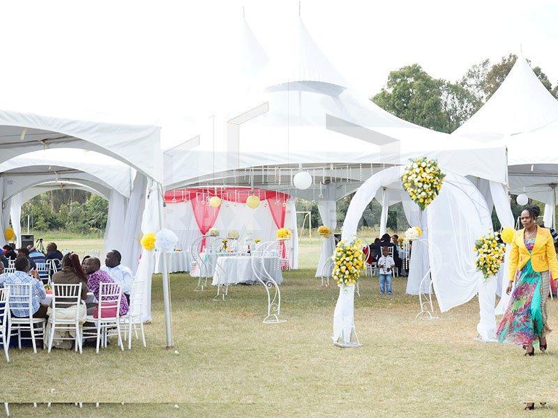Outdoor White Color Church Wedding Tent