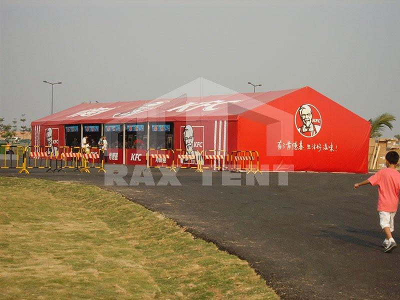 Large Indoor Restaurant & Hotel Tent