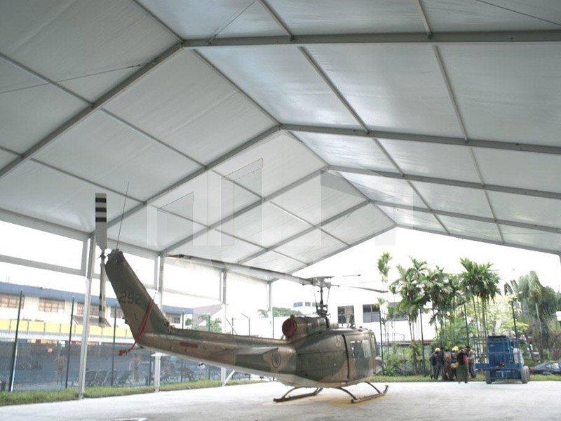 Irregular Shape Frame Aircraft Hangar Tent