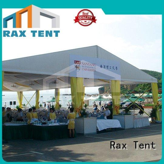 large white wedding tent event outdoor wall RAXTENT