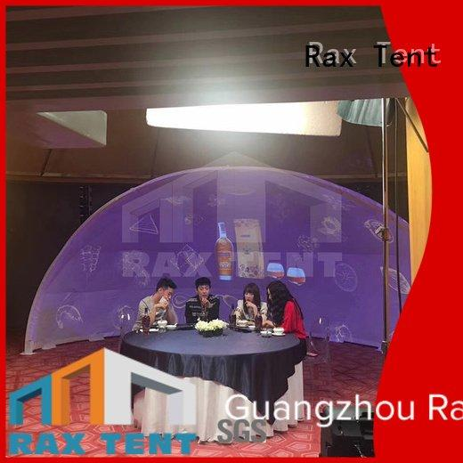 Custom 360 tent projection raxtent dome marquee for sale