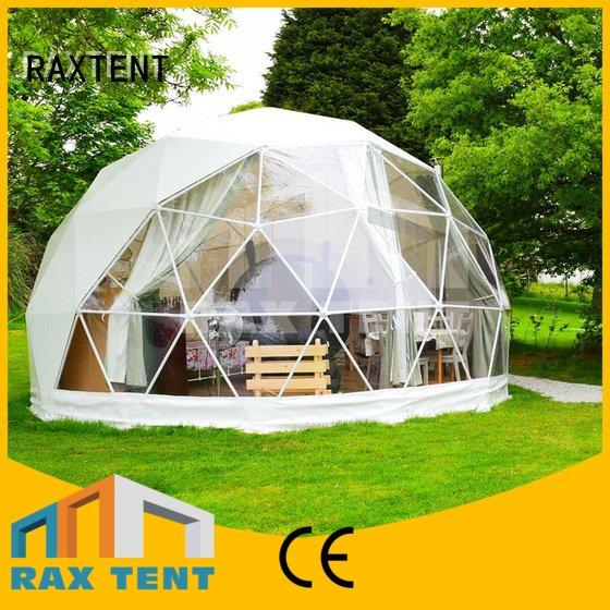 camping dome tents for sale event luxury camping tents RAXTENT Brand