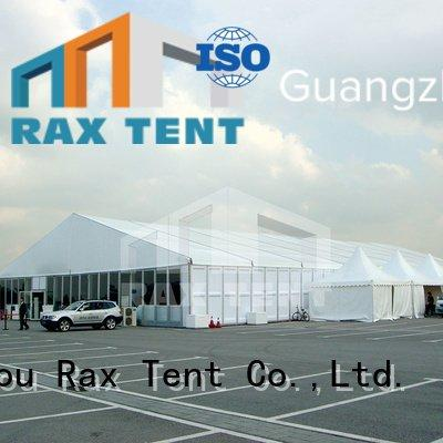 Hot warehouse tent suppliers abs outdoor warehouse tents frame RAXTENT