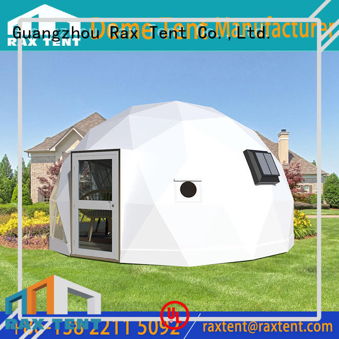 RAXTENT Brand 4m hotel glass dome house manufacture