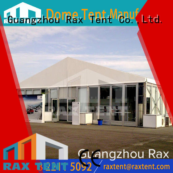Glass wall Aluminum Marquee tent for outdoor car show, wedding and party