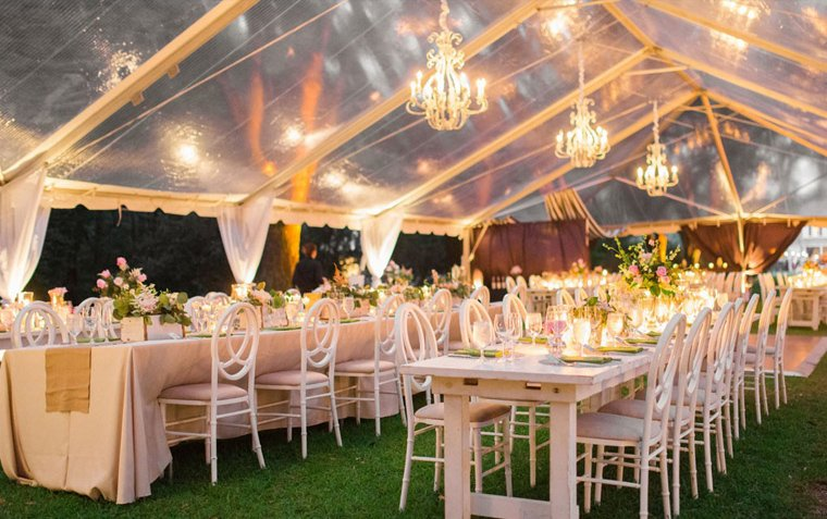 raxtent wedding tent,transparent waterproof,lights