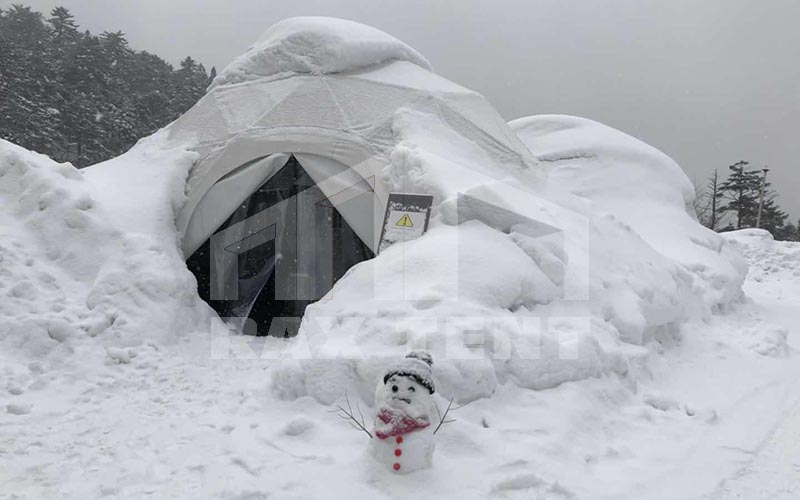 tent snow load capacity