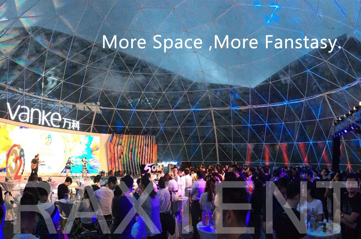 Raxtent 30m event dome