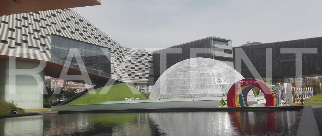 Raxtent 30 event dome ,transparent dome tent