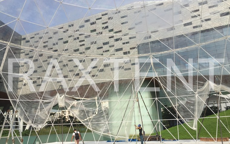 Raxtent dome tent for event