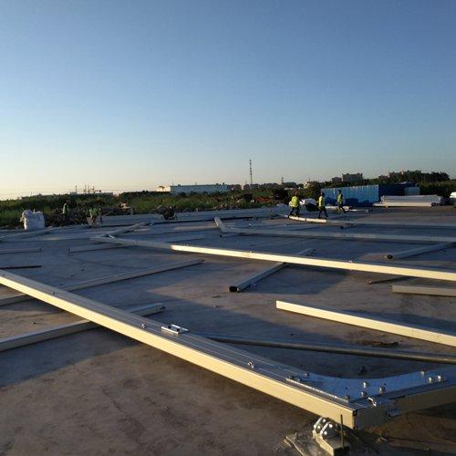 Raxtent warehouse tent