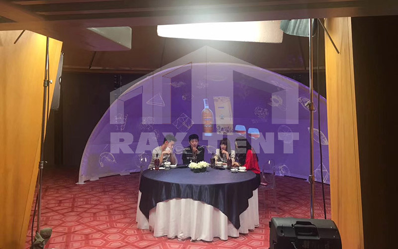 Raxtent 360° projection dome tent