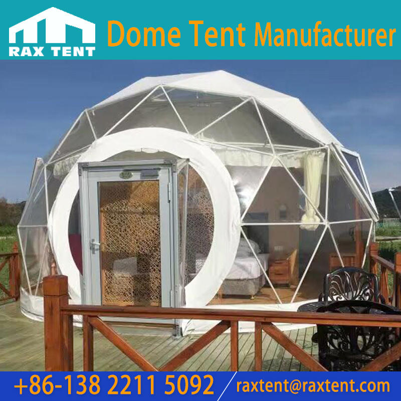 7 -10 Person Temporary Large Geodesic Exhibition Dome Tent