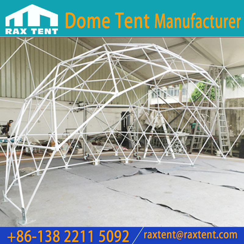 7 -10 Man Dome Tent with PVC Cover for Outdoor Events