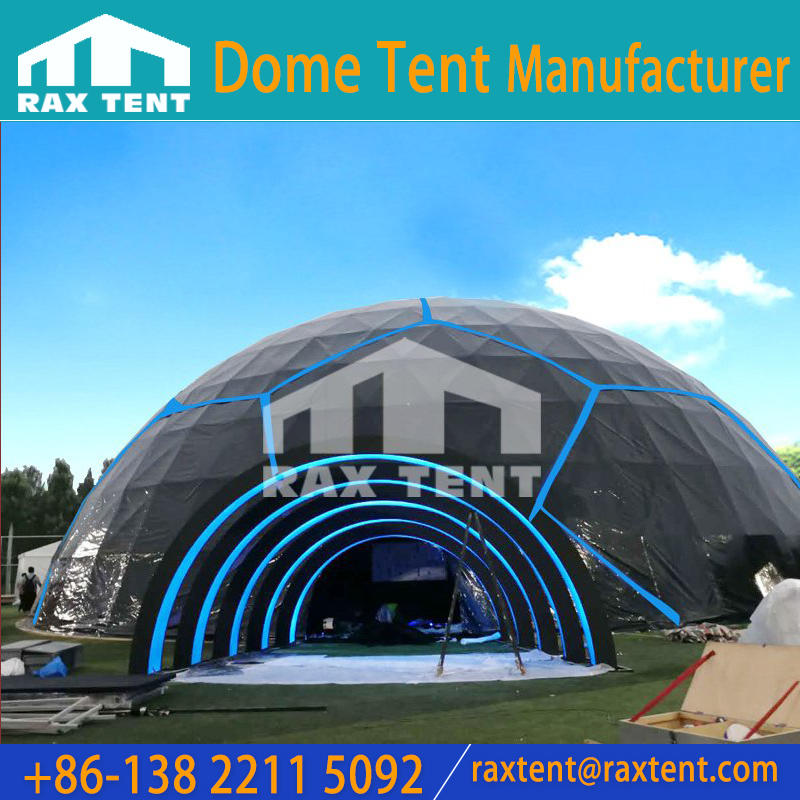 VIVO 2018 World Cup Custom Phone Conference with 30m in Diameter Big Geodesic Dome Tent