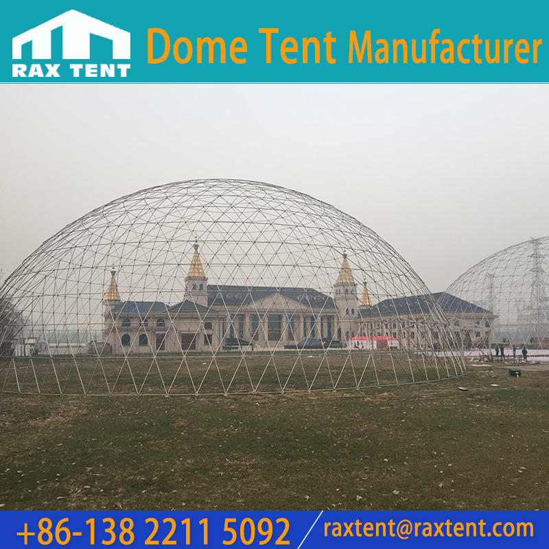 50m Dome Tent with Stainless Steel Pipe Frame for outdoor Event Party