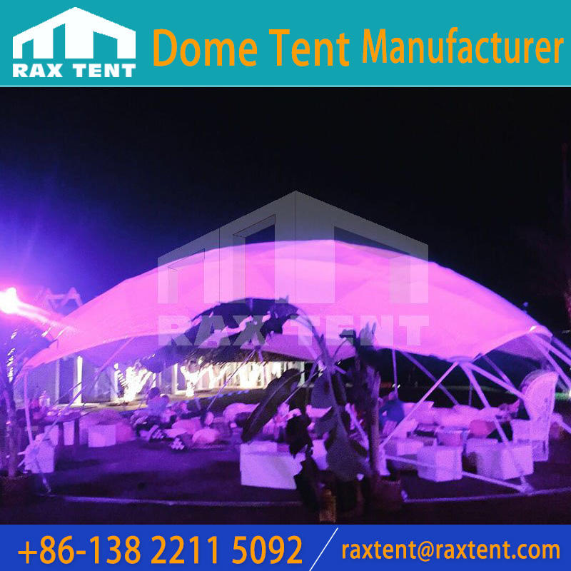 13m Customized Dome Tent for outdoor Events with PVC cover