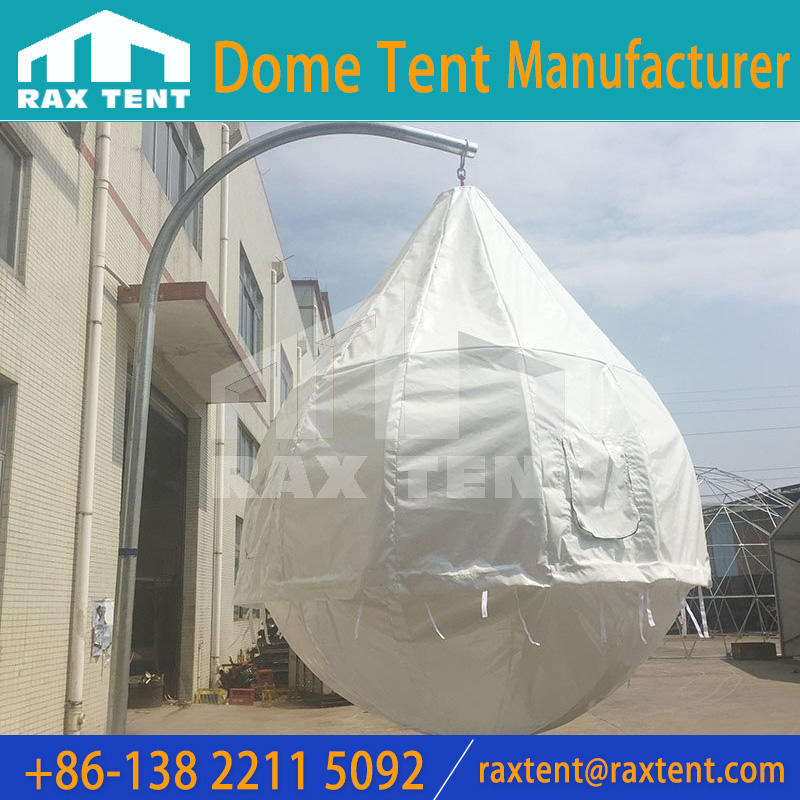 3m coconut tree tent with PVC cover for outdoor hotel