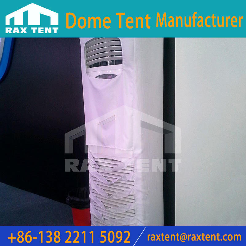 Air condition in marquee dome tent for outdoor events