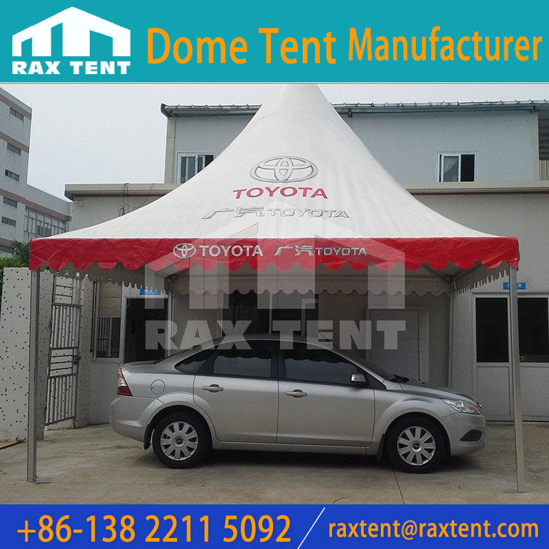 Outdoor marquee tent, dome tent with logo print