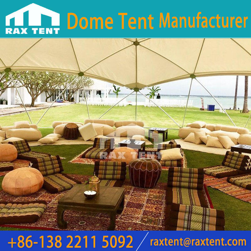 13.3m Event tent with customized shape galanized pipe frame and Uv-resistance Cover
