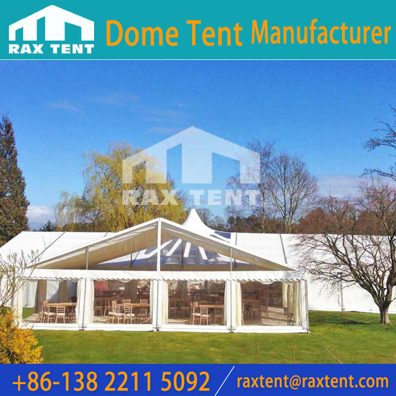 Combination Clear Span Tents for Events with Furniture/Floor /Lighting
