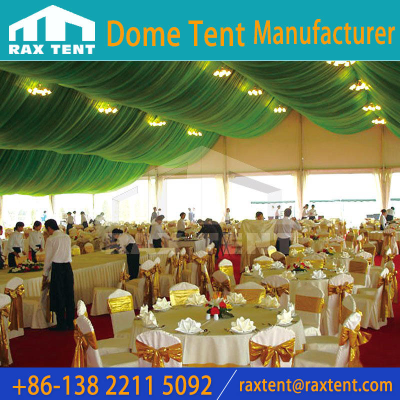 Large A frame event tent structure with Glass wall ABS wall PVC wall