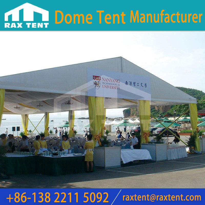 20x60m Marquee Tent With Glass / PVC Wall And Windows for Hot sale