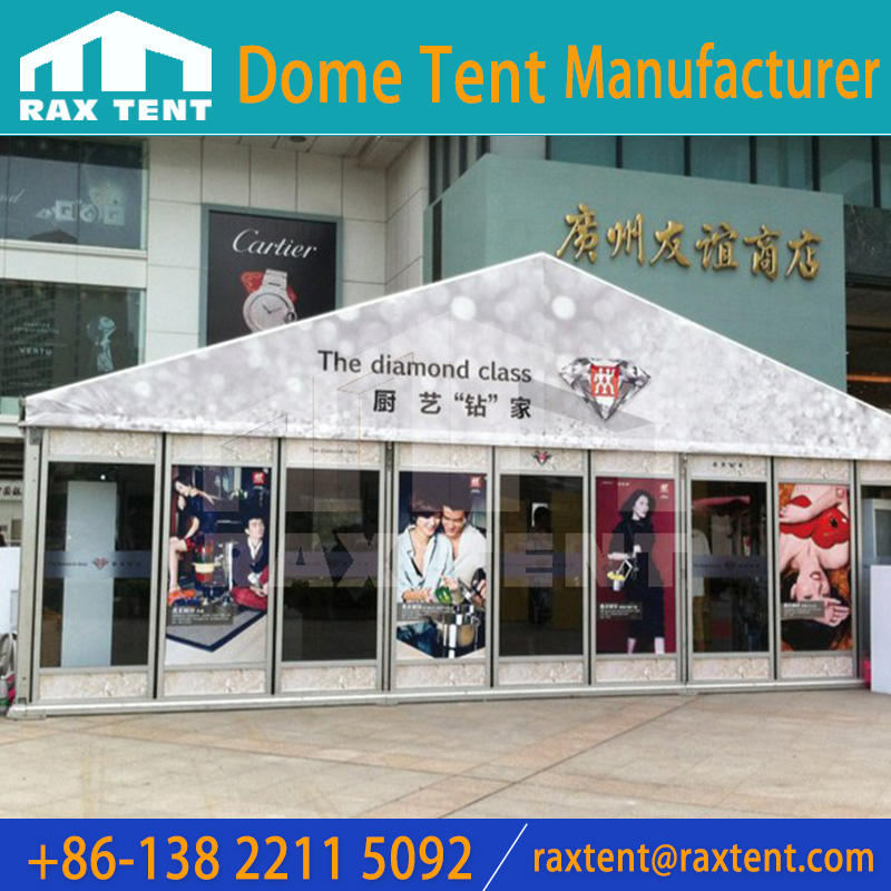 3m to 10m width Aluminum Marquee tent with PVC cover for car show